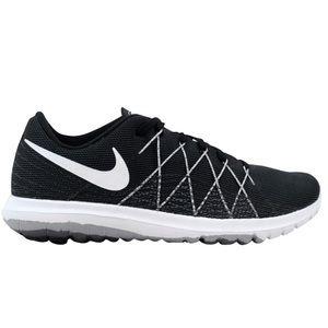 Nike Women's Flex Fury 2 Black Grey Sneakers, sz 6